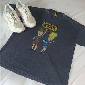 Vintage MTV Beavis and Butthead Oversized Shirt